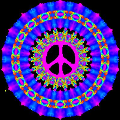 Clip Art 3 Colors Of Peace