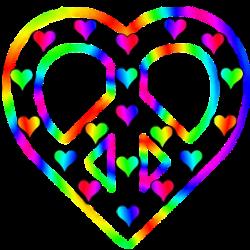 clip art 4 heart theme peace sign art rh peaceartsite com Hippie Peace Sign Heart Shaped Peace Sign