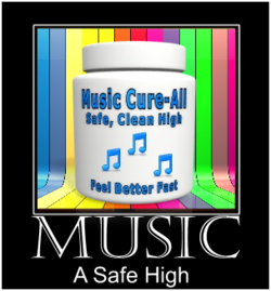 pill bottle of music