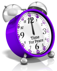 time for peace clock