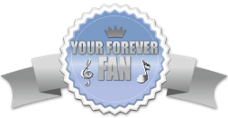 your forever fan blue