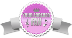 your forever fan pink